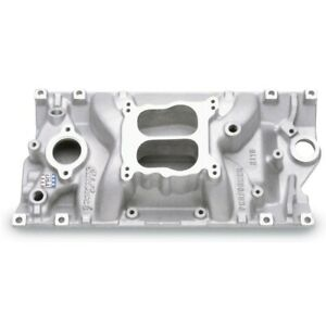 Edelbrock 2116 Performer Intake 96 99 Small Block Chevy 305 350 Vortec Satin