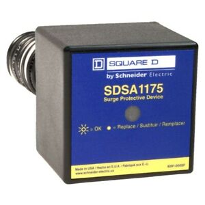 Square D Single Phase Panel Mounted Type 36 Ka 1 Surge Protective Device Pumps