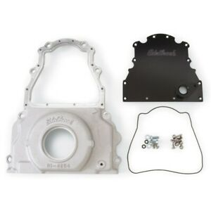 Edelbrock 4255 Aluminum 2 piece Timing Chain Cover For Gen Iv Ls series Engines