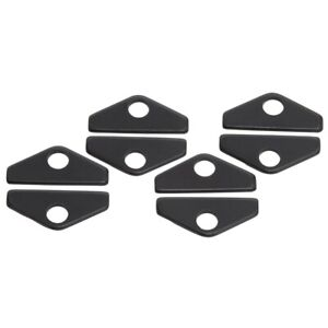 Edelbrock 44273 Valve Covers Hold Down Tab Kit Universal Steel Black Set Of 8