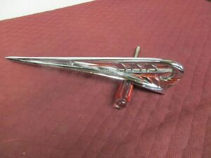 1941 Plymouth Hood Ornament hot Street Rat Rod Ship re chromed