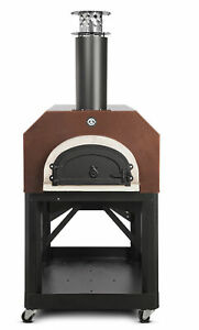 Chicago Brick Oven Mobile Wood Burning Pizza Oven Copper