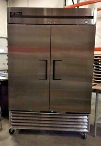 True T Series Reach in Solid Door Freezer