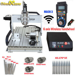 Mini Cnc 6040 4axis 2200w Router Mach3 Usb Engraving Diy Cutting milling Machine