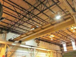 25 Ton X 50 Conco tellas Double Girder Overhead Bridge Crane Ybm 10022