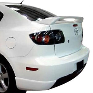 Rear Spoiler Painted Fits 2008 2009 Mazda 3