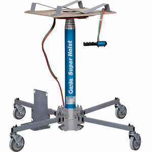 Genie Super Hoist Material Lift 300 lb Load Cap 12ft 5 1 2in Lift Height gh 3 8