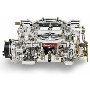 Edelbrock 14064 Performer Series 600 Cfm Carburetor W Electric Choke Endurashine