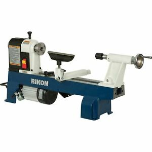 Rikon 12in X 16in Woodworking Mini Lathe 1 2 Hp 3450 Rpm 70 100