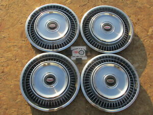1971 78 Mercury Comet Maverick Zephyr 14 Wheel Covers Hubcaps Set Of 4