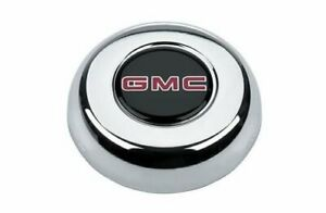 Grant Products Horn Button Steel Chrome Logo For Challenger Classic Series Ea