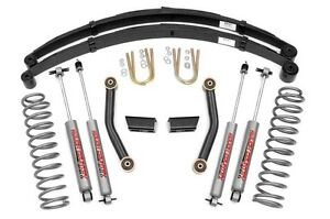 Rough Country 3 Base Suspension Lift Kit Jeep Xj Cherokee 84 01 W Rear Springs