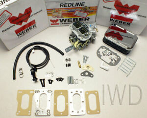 Toyota Pickup 20r 22r Weber Carburetor Conversion Kit Manual Choke K746m Kit