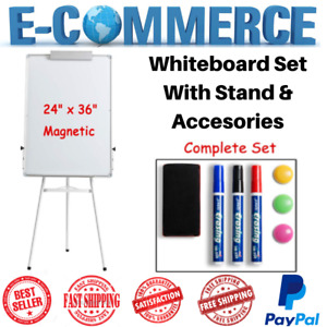 Luxury Class Set With Dry Erase Whiteboard Tripod Adjustable Stand