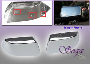 For 2015 Chevy Tahoe Suburban Chrome Side Mirror Tophalf Covers Clip On Replace