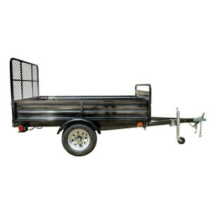 Detail K2 Mmt5x7 dug Multi Purpose Utility Trailer Kits With Drive Up Gate New