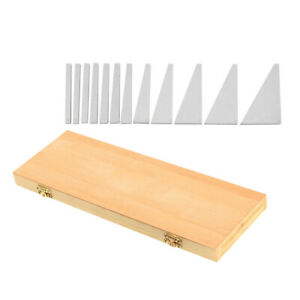 12pcs Precision Angle Blocks Set 1 4 To 30 Degree With Case Lathes Gauge