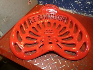 Very Rare Le Sanglier Vintage Tractor Implement Seat Collectables