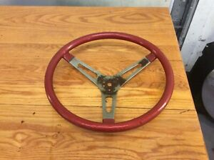 Vintage Aftermarket Steering Wheel Ford Chevrolet Dodge High Performance 60s 70s
