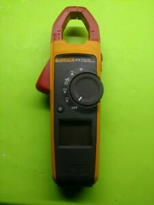 Fluke 373 True Rms Clamp Meter Tester Used