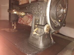 1928 White Rotary Antique Sewing Machine