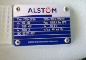 Alstom Gas insulated Sf6 Substation Switchgear 170 Kv F35