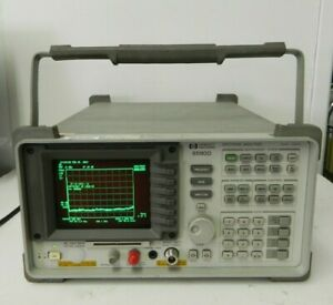 Hp Agilent 8590d 9 Khz To 1 8 Ghz Portable Spectrum Analyzer