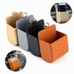 Car Seat Pu Back Tidy Storage Box Coin Bag Organizer Pocket Hanging Holder Pouch