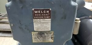 surplus Welch 1397 Duo seal Vacuum Pump Dayton 3n012j 208 220 440v 3ph Motor