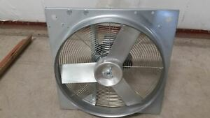 Dayton 10d967 1 3 Hp 1710 Rpm 115 230v 24 In Blade Dia Direct Drive Exhaust Fan