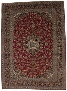 Extra Large Traditional Design 10x14 Vintage Persian Rug Oriental Area Carpet