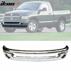 Fits 02 09 Dodge Ram 1500 2500 Front Bumper Face Bar Ss Chrome