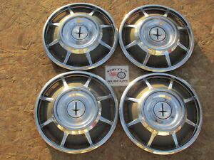 1966 1967 1968 1969 Chevy Corvair 13 Wheel Covers Hubcaps Set Of 4