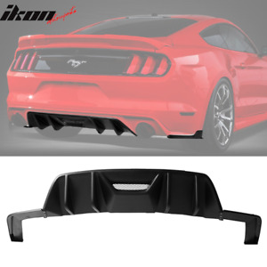 Fits 15 17 Ford Mustang 2 door Hpe700 Hpe750 Pp Rear Bumper Diffuser 3pc