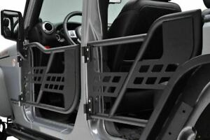 07 17 Jeep Wrangler Jk 4 Door Steel Tube Doors Only Safari Black