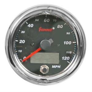 Summit Racing Speedometer 0 120 Mph 3 1 2 Dia Electrical G28187 10