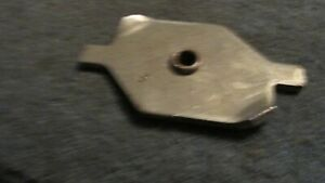 Nos 1971 1972 1973 Ford Mustang And Mach 1 Door Latch Striker Retainer Plate Nos