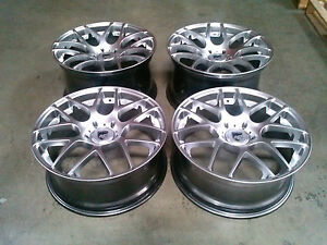 Avant Garde Silver 19 Wheels Rims For Porsche 911 987 996 997 Carrera Boxster