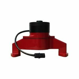Proform Parts Water Pump Electric 35 Gpm Aluminum Red Bbc Includes Hose Adapter