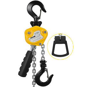 550lbs 5ft Mini Lever Hoist Chain Block W Brake Heavy Duty Transport