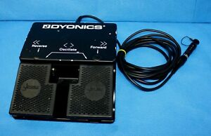 Dyonics Footswitch Foot Pedal For Ep 1 Power Shaver Control Unit 7205396