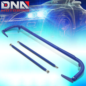 Nrg Hbr 003bl 50 5 Aluminum 4 point Racing Safety Seat Belt Chassis Harness Bar