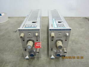 Lot Of 2 Tektronix Am 503 Current Probe Amplifiers Modules Plug in Unit