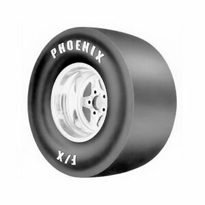 Phoenix Drag F x Slicks 26x7 00 15 Bias ply Wht Letter Ph726 Each