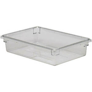 Cambro 8 75 Gal Food Storage Boxes Camwear 6pk Clear 18266cw 135