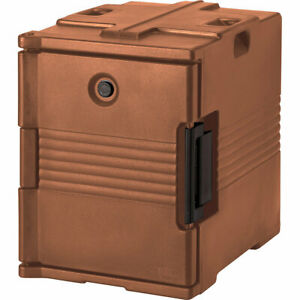 Cambro Ultra Insulated Food Carrier No Casters Coffee Beige Upc400 157