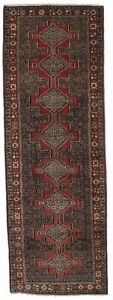 Geometric Design Bidjar Runner 3x9 Persian Wool Rug Oriental Home D Cor Carpet
