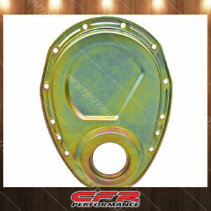 Steel 1955 95 Chevy Sb Small Block 283 305 327 350 400 Timing Chain Cover Zinc
