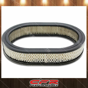 Fits Chevy Ford Mopar 12 Oval Air Cleaner Filter 11 7 8 l X 8 1 4 w