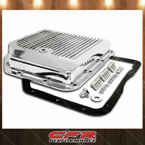 Fits Chevy Gm Turbo 350 Th350 Aluminum Transmission Pan Kit Polished